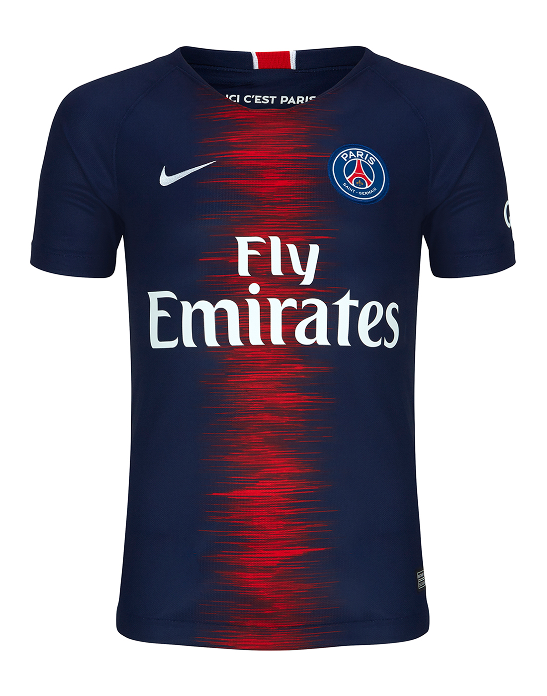 outlet store 9a175 3cda4 Kids PSG Home 18/19 Jersey