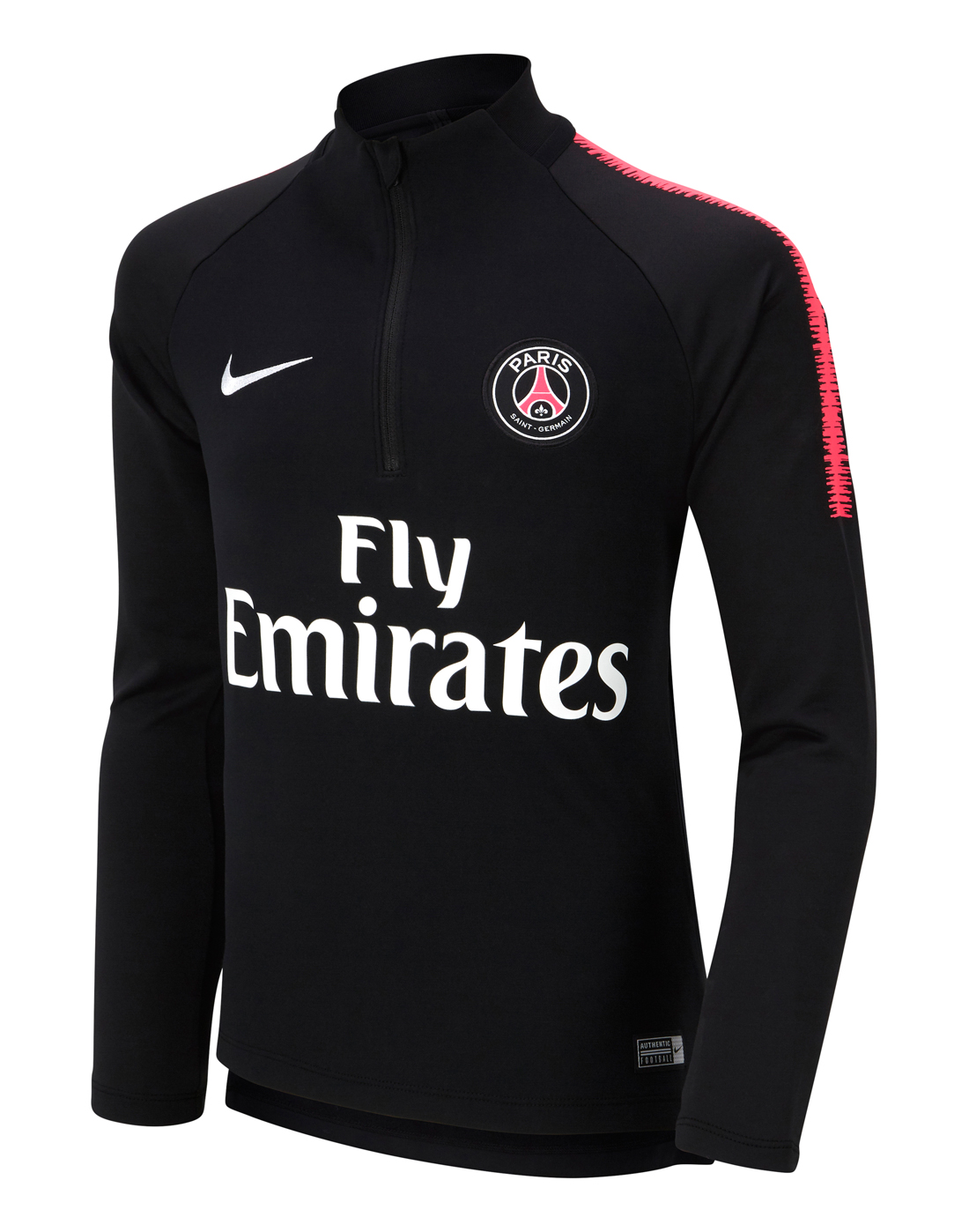 new concept a6ae7 cb0ef Nike Kids PSG Training 1/4 Zip