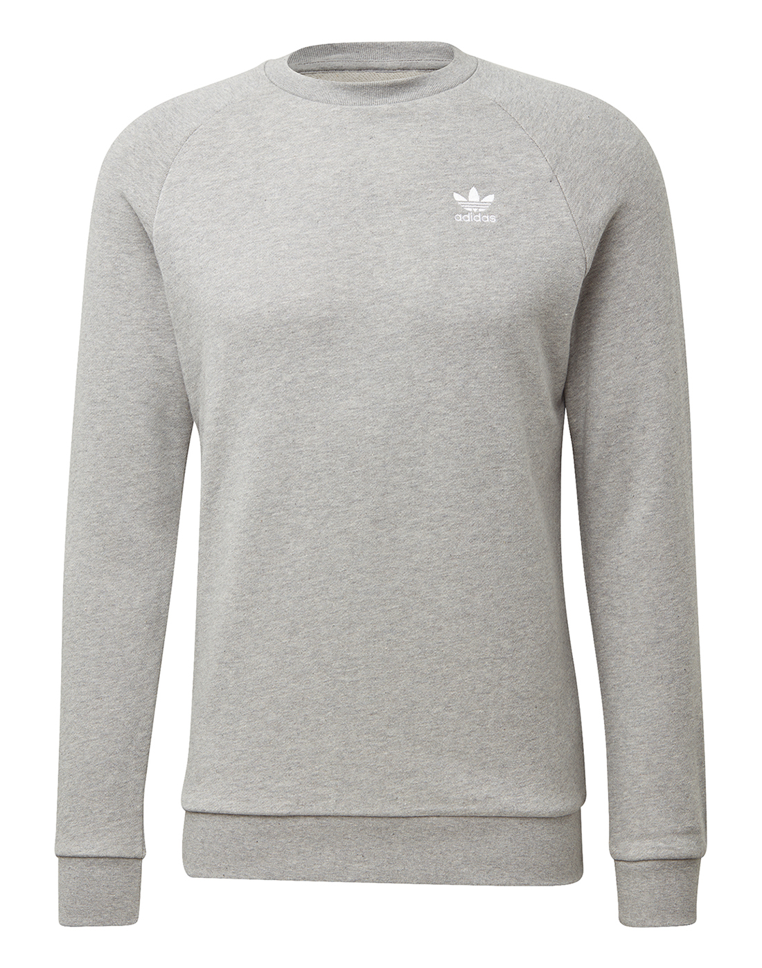 Men s Grey adidas Originals Sweatshirt  90b8cd1952