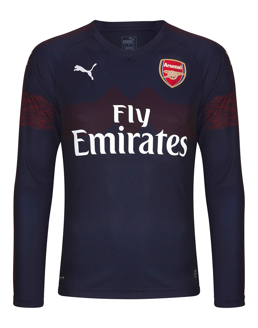 81b94588d7c Adult Arsenal Away 18 19 LS Jersey ...