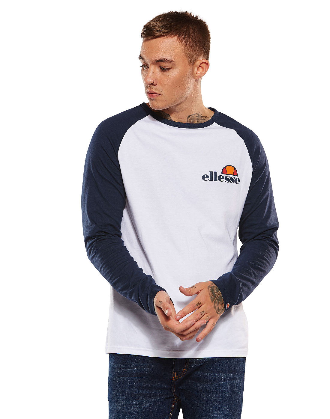 1283d4960a Ellesse Mens Thero Long Sleeve T-Shirt | Life Style Sports