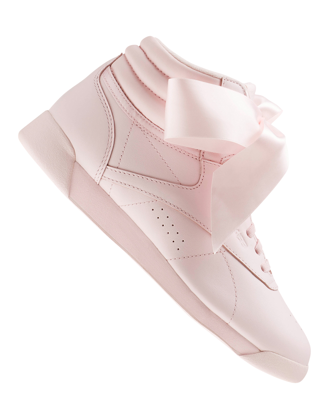 35200c81b95 Reebok Womens Freestyle Hi Satin Bow