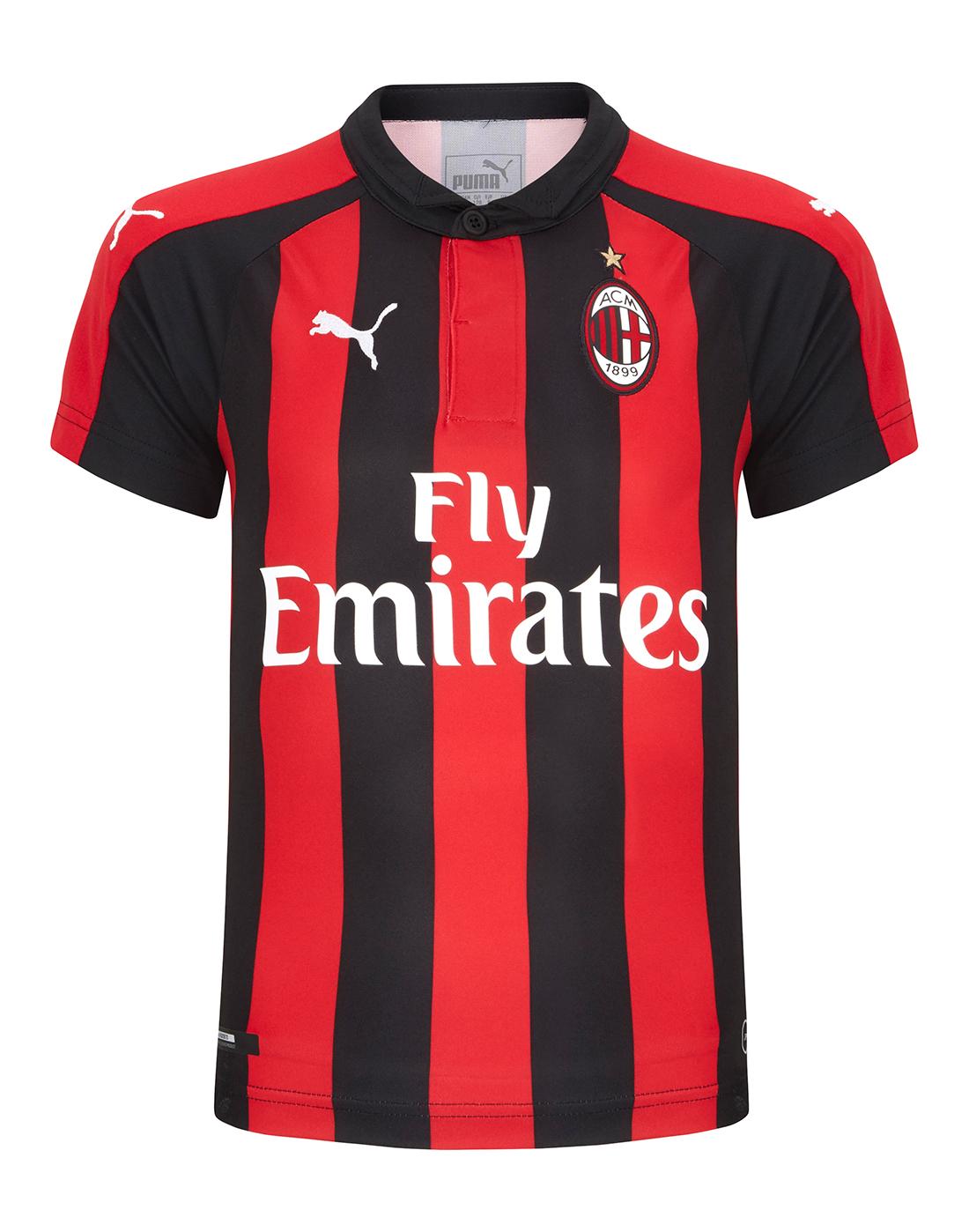 37262e0040e Kids AC Milan 18/19 Home Jersey | Puma | Life Style Sports