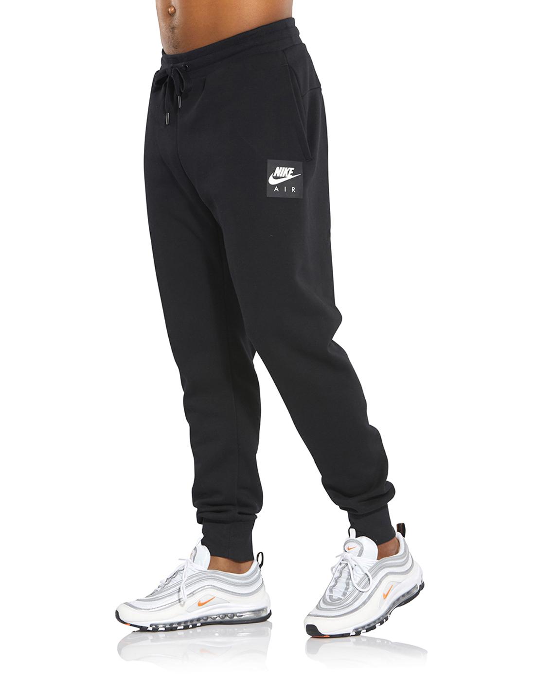 7679e11695 Men's Black Nike Air Joggers   Life Style Sports