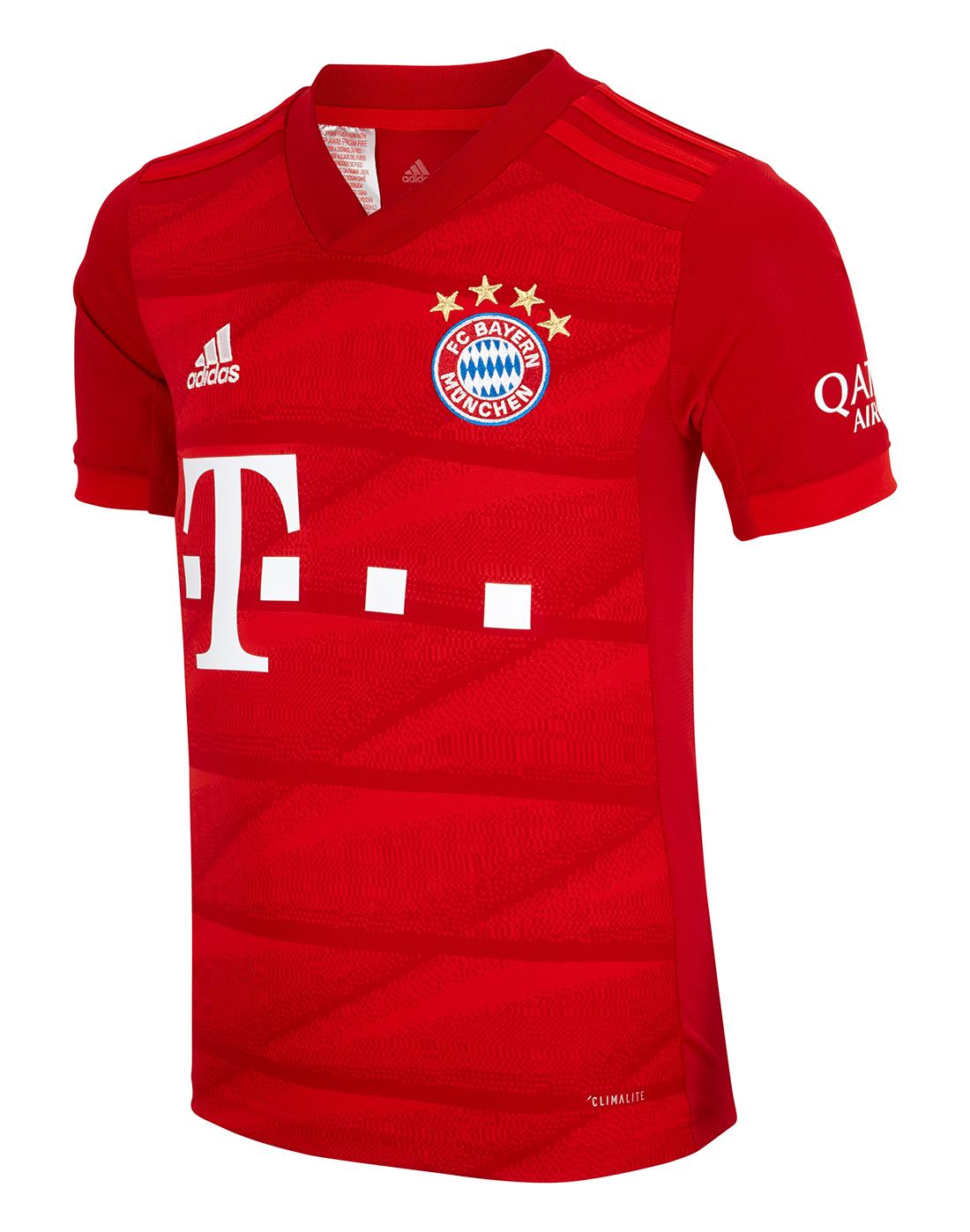 Kid's Bayern Munich 19/20 Home Jersey   Life Style Sports