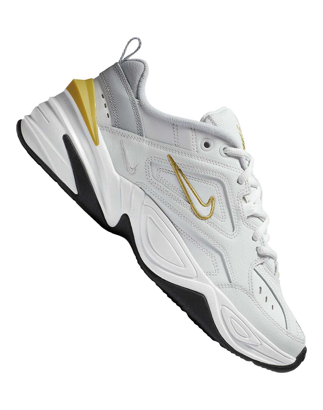 Women's Grey \u0026 Gold Nike M2K Tekno