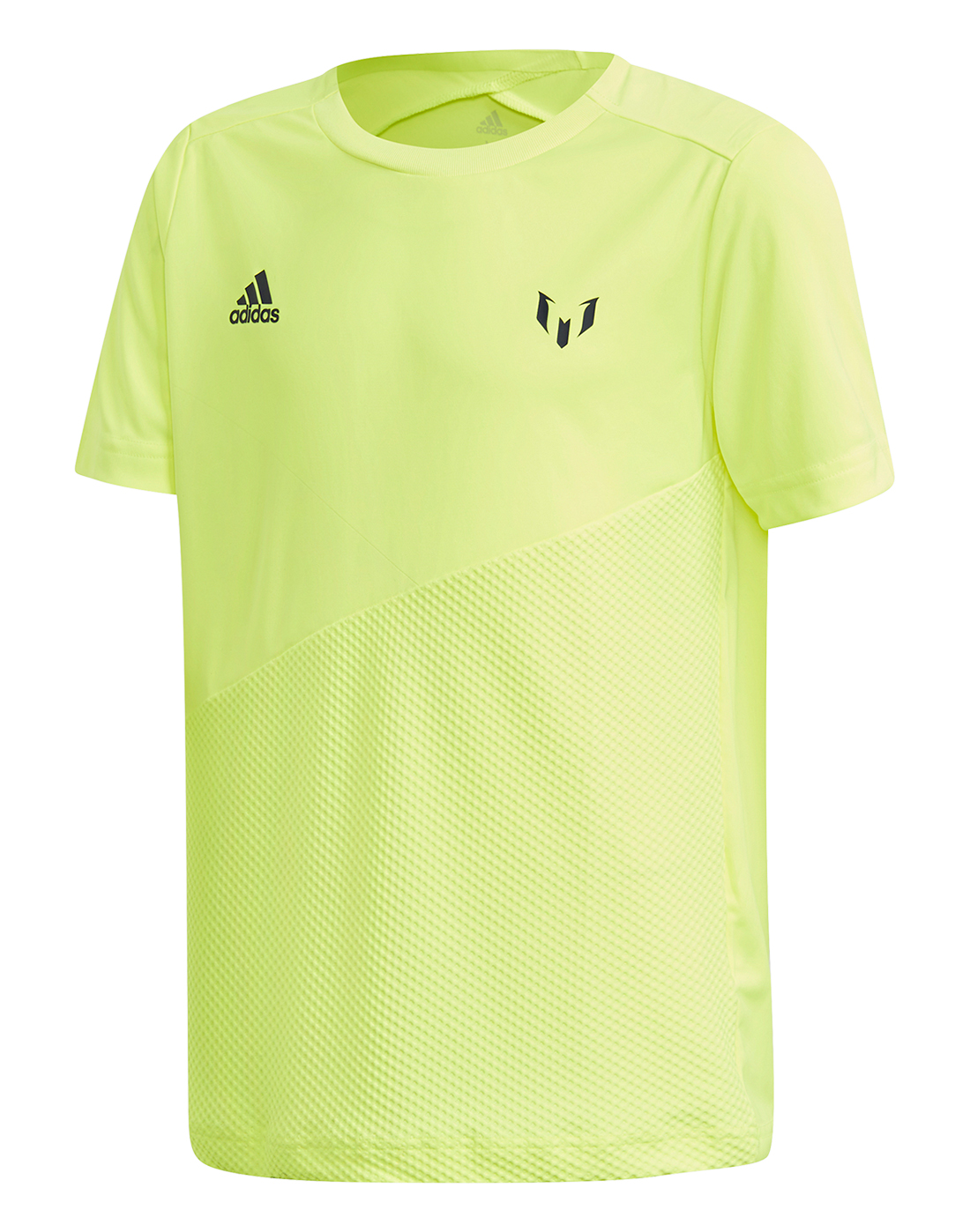 18cee6a5cd1 Kid's Neon Yellow adidas Messi Jersey | Life Style Sports