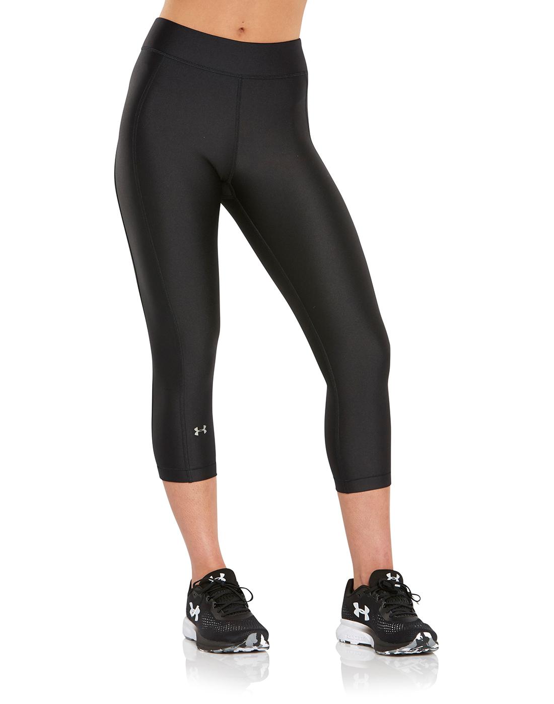the best attitude 9e7b4 0acf1 Under Armour. Womens Heatgear Capri Leggings. Womens Heatgear Capri  Leggings ...
