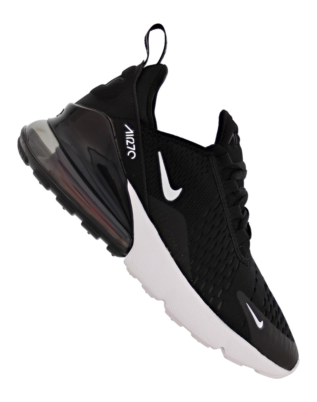 Kids Nike Air Max 270 Trainers | Black