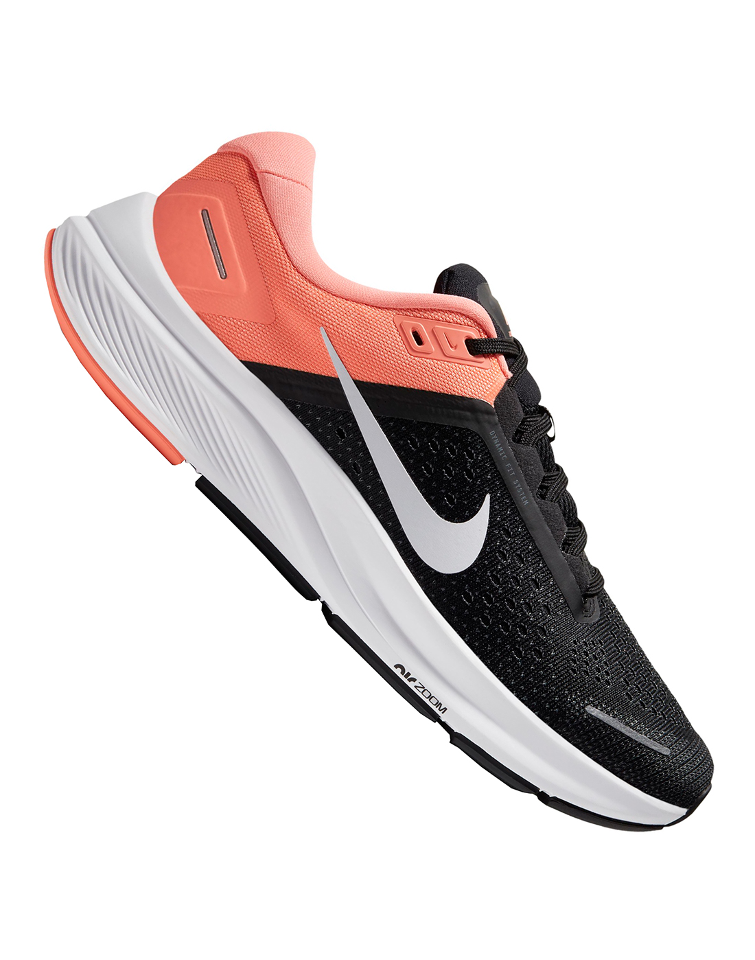 Nike Womens Air Zoom Structure 23 - Black   Life Style ...