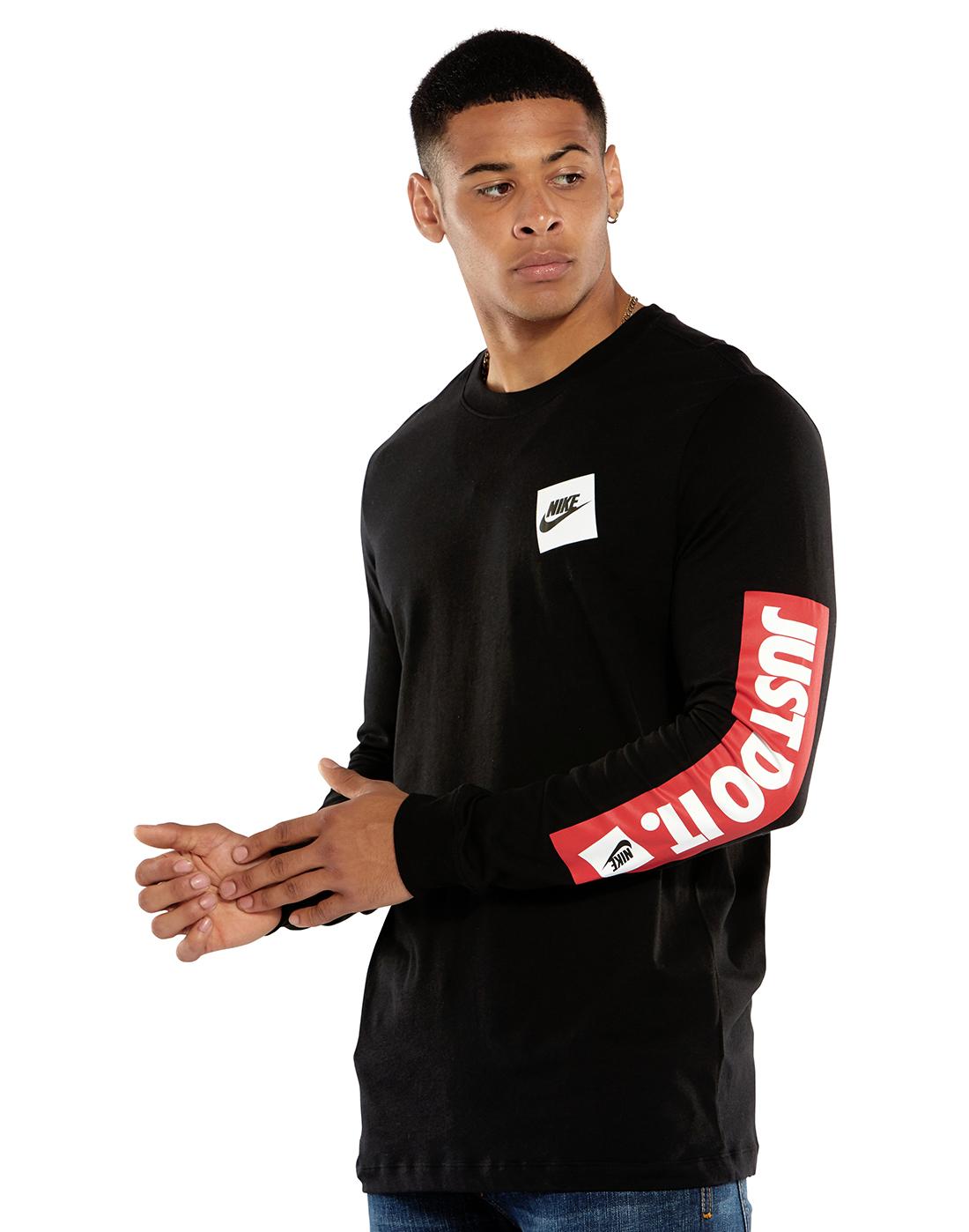 23151b8e Nike Mens JDI Long Sleeve T-Shirt   Life Style Sports