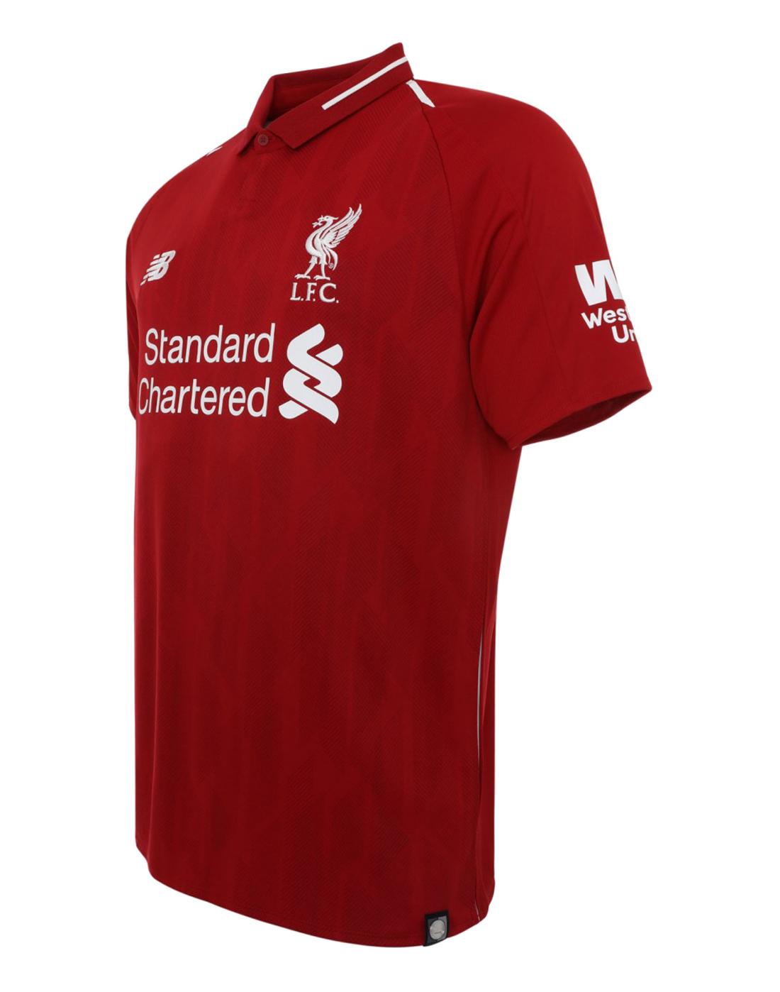 9d28f9d9d ... Kids Liverpool 18 19 Home Jersey ...