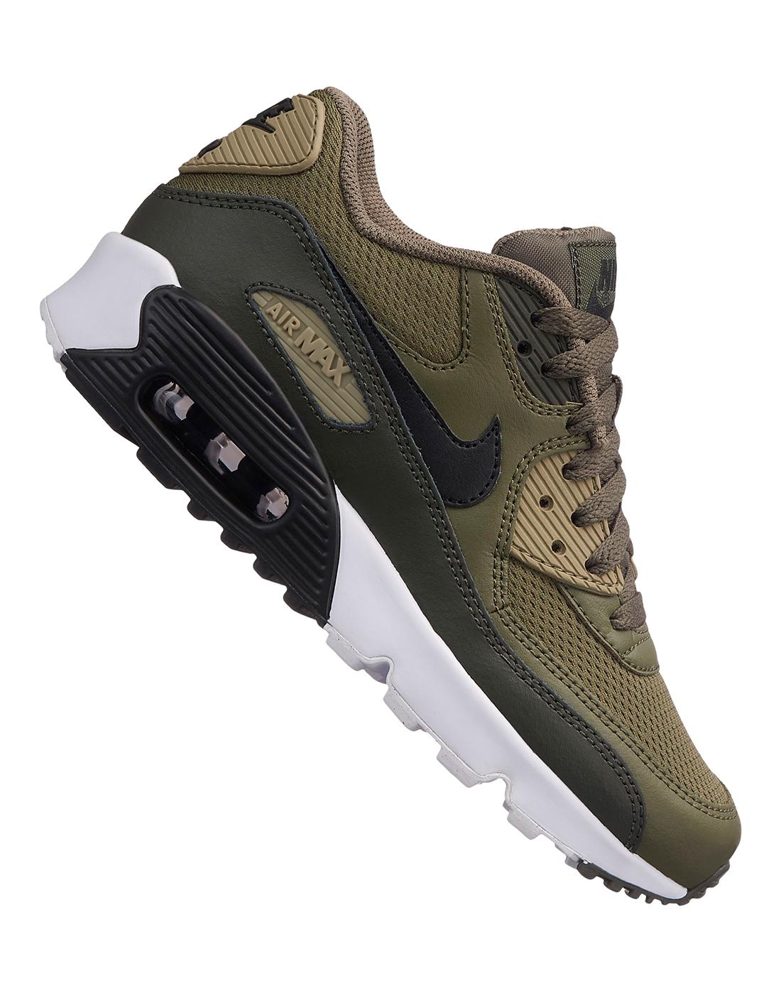 Kids Nike Air Max 90 Mesh   Green