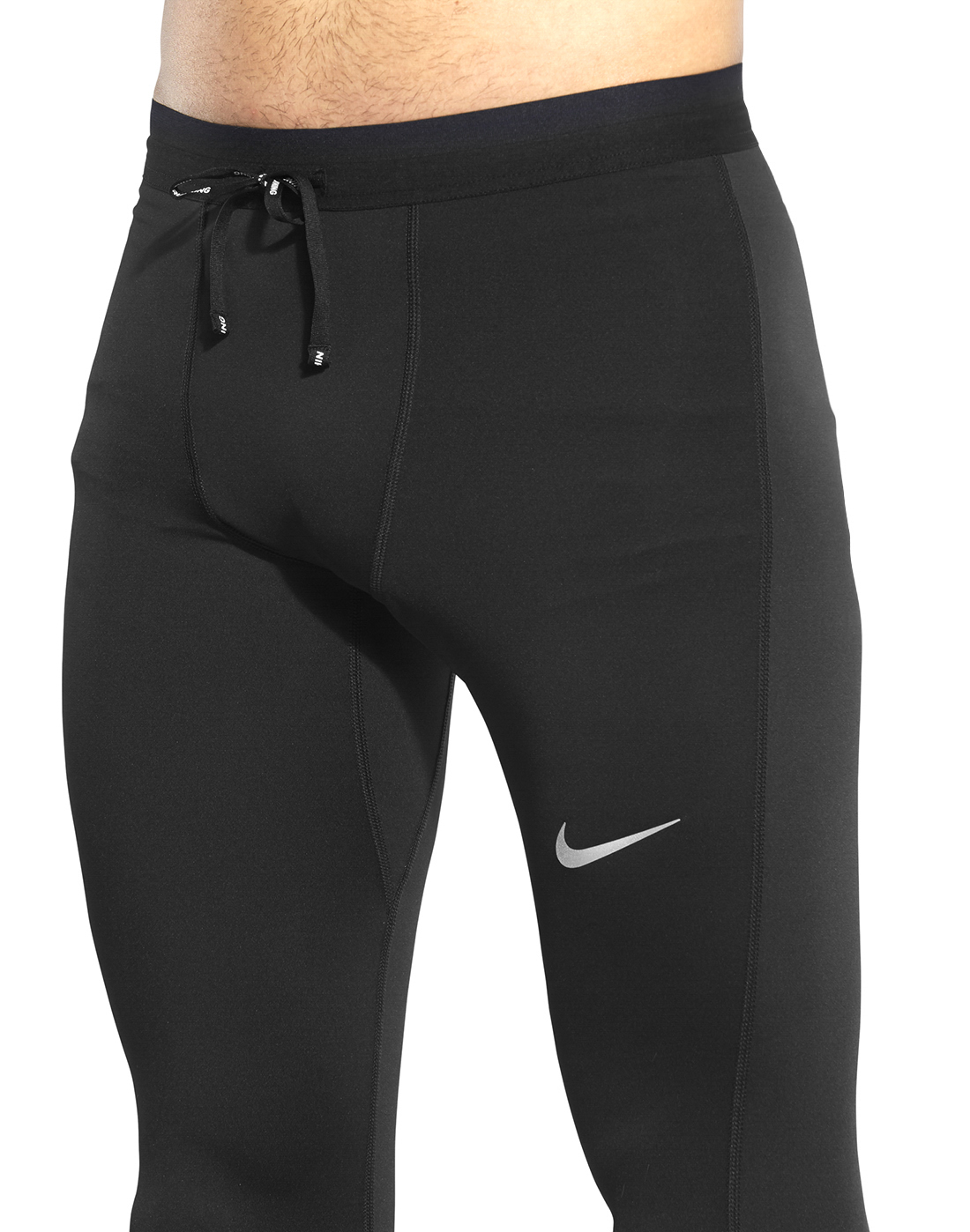 9f0c9960c92f7 Men's black Nike Running Mobility Tights | Life Style Sports