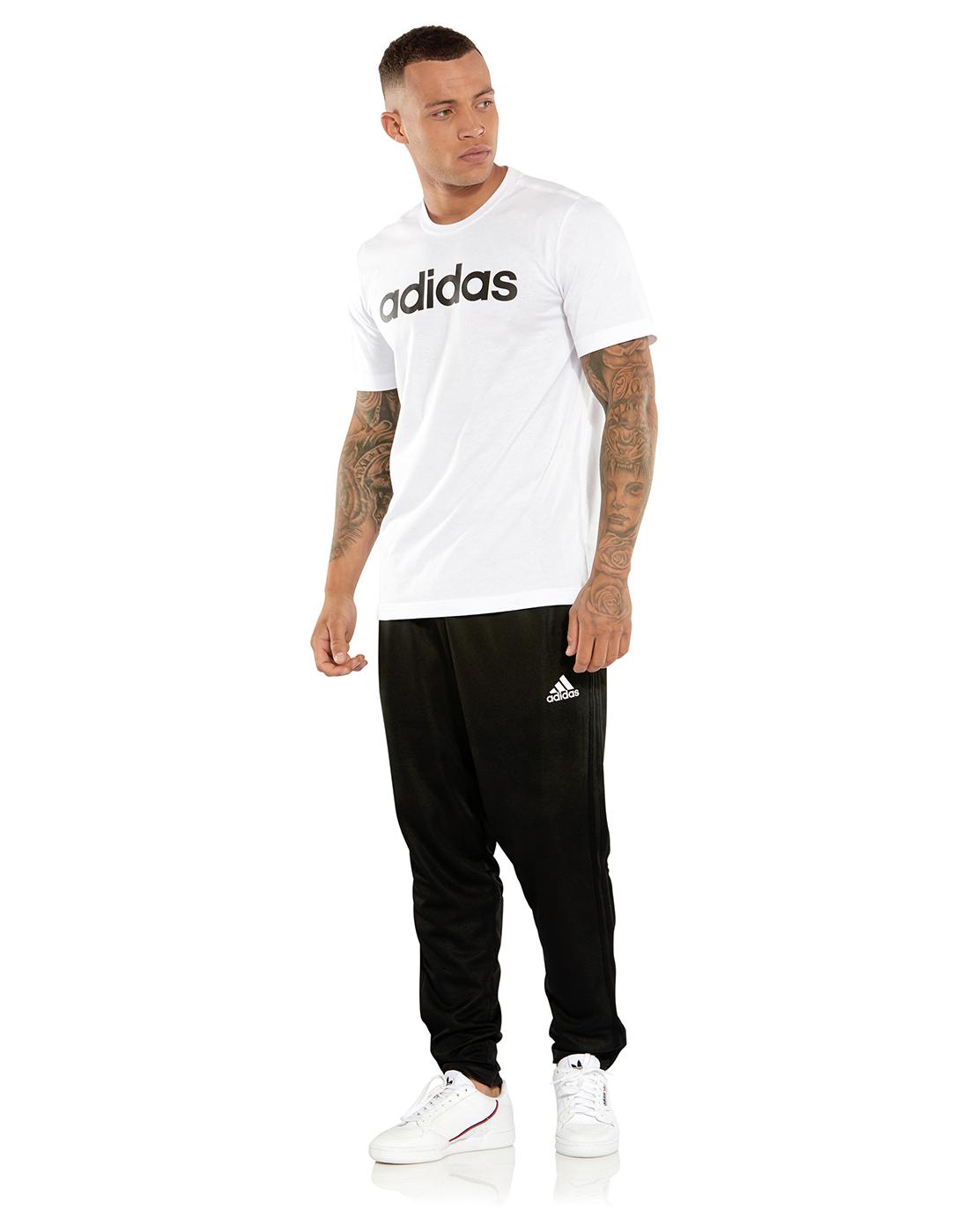 guys in adidas shorts