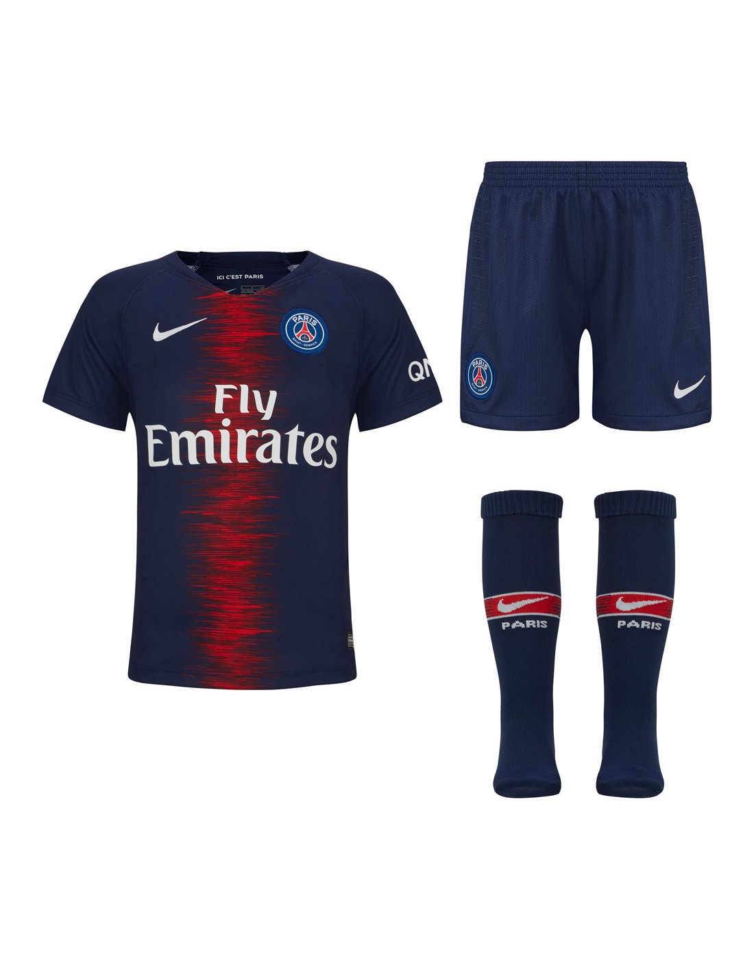 e154dd18d Kids PSG 18/19 Home Kit | Nike | Life Style Sports