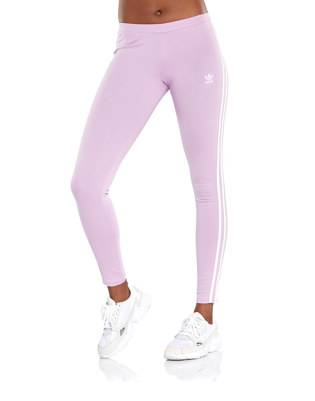 c31f4d114149e Women's Purple adidas Originals Leggings | Life Style Sports