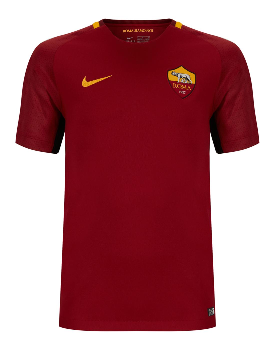 Nike Kids Roma 17 18 Home Jersey  94e9c9cc32