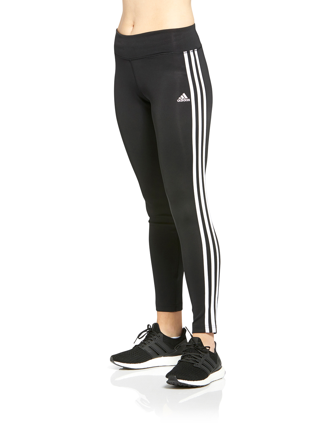 e2dfc9a6868617 adidas Womens 3-Stripes Tight | Life Style Sports