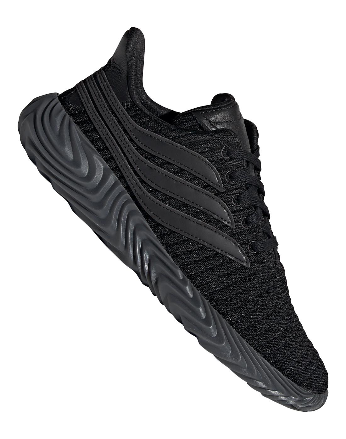 27cc804d4df145 Men's Triple-Black adidas Originals Sobakov | Life Style Sports