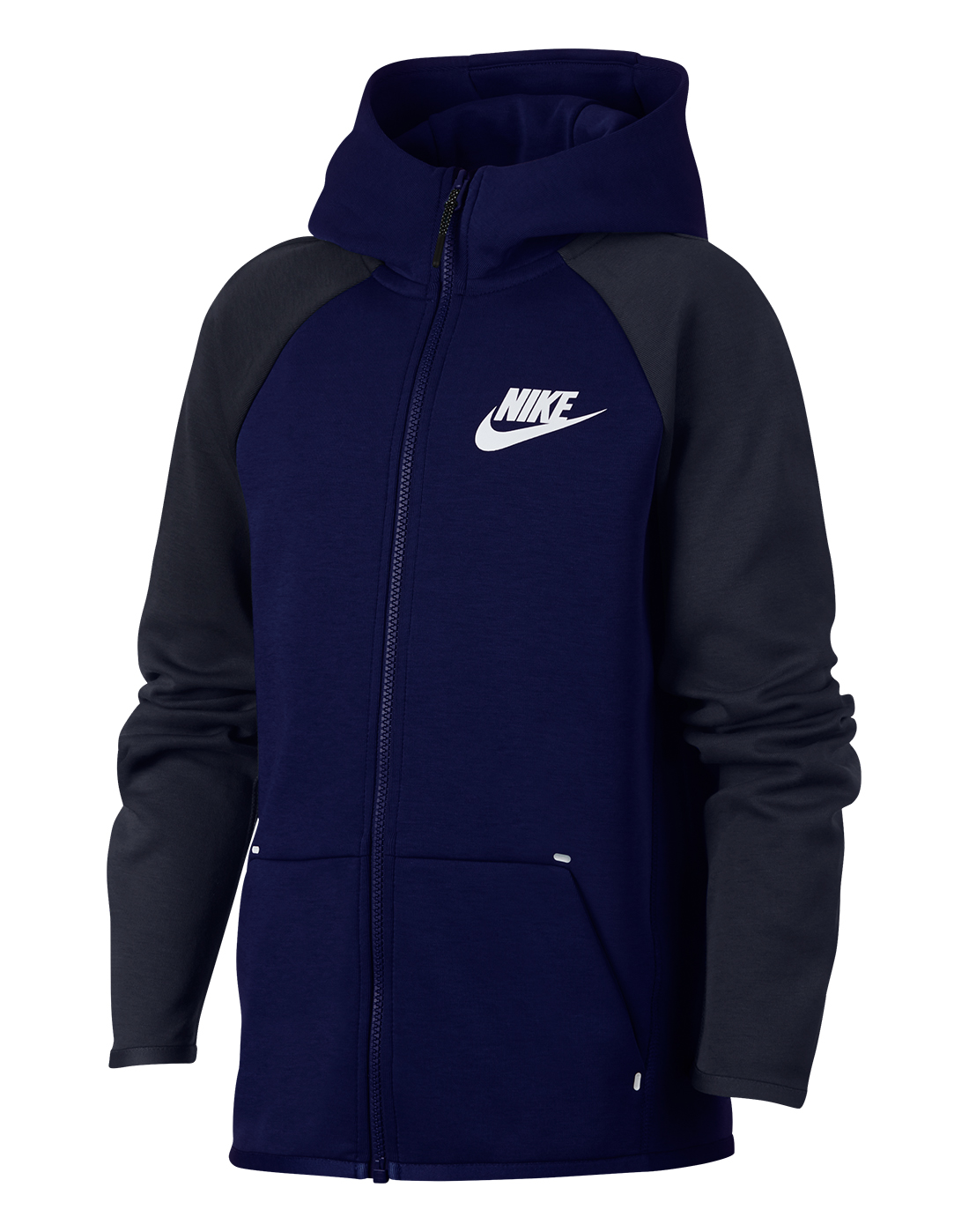 b70e7be53c34 Boy s Navy Nike Tech Fleece Hoodie