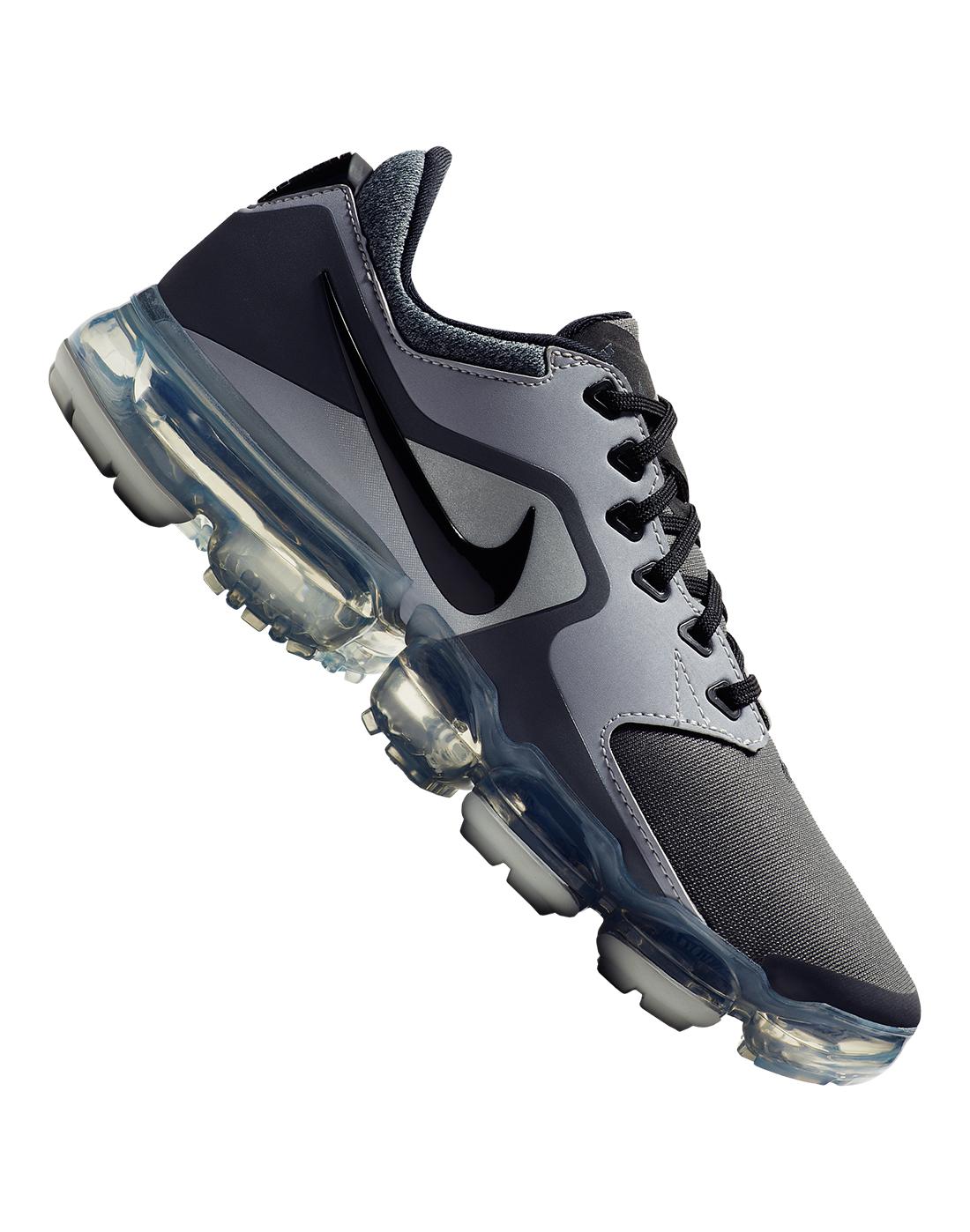 3f698f07fe18 Kid s Grey Nike Air VaporMax Trainers