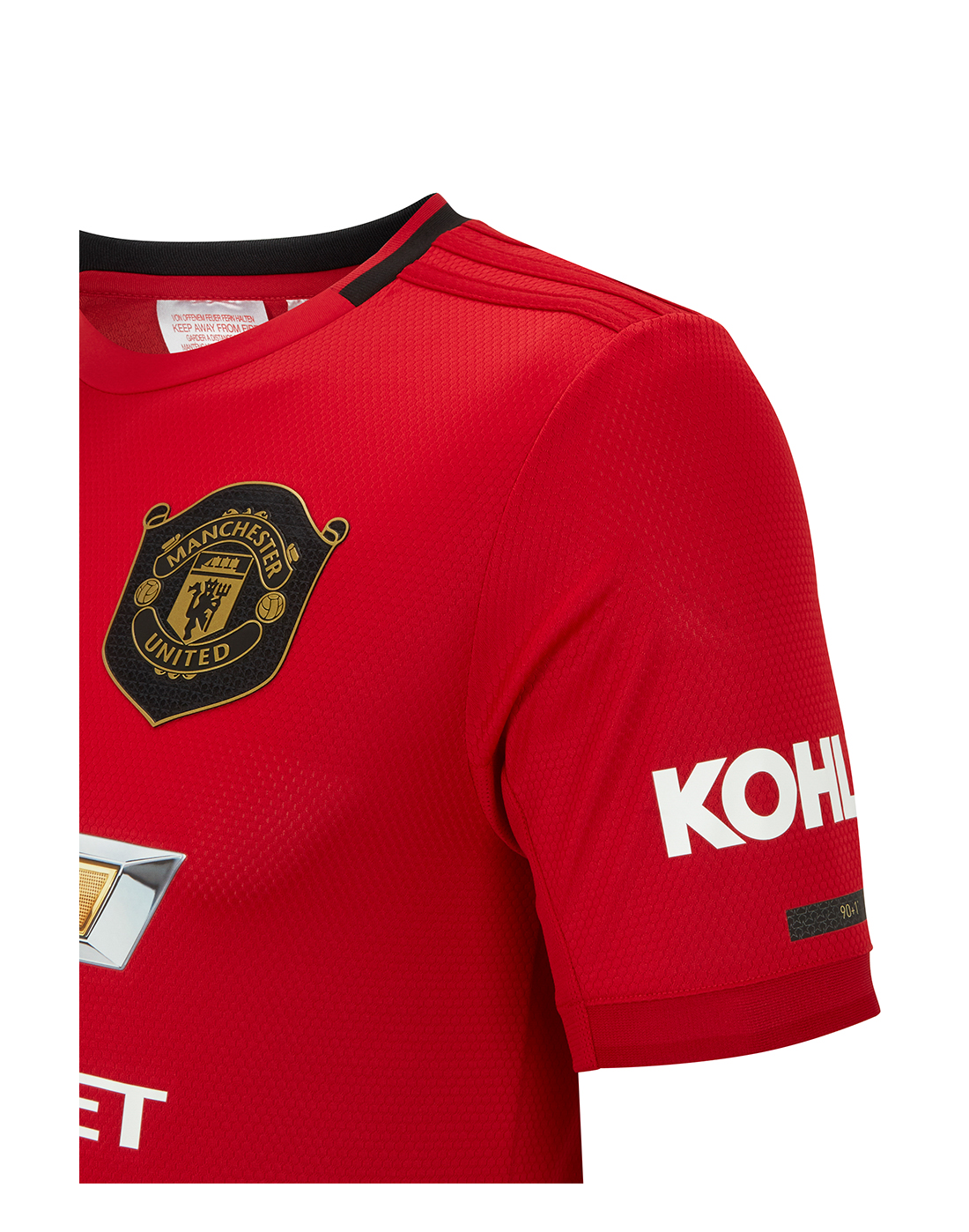 a39696125db Kid s Man United 19 20 Home Jersey