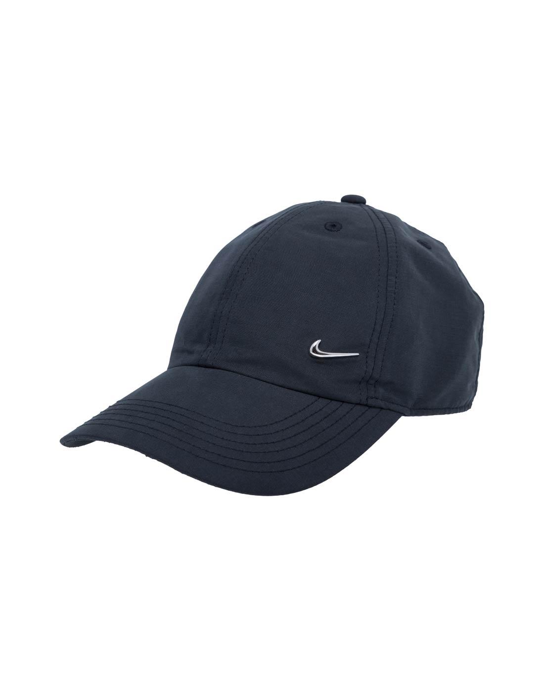 4c070715 Youth's Nike Metal Swoosh Cap | Black | Life Style Sports