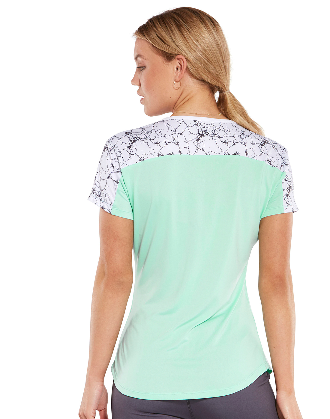3ffc3611e Mint Green Millie & Gym T-Shirt | Life Style Sports