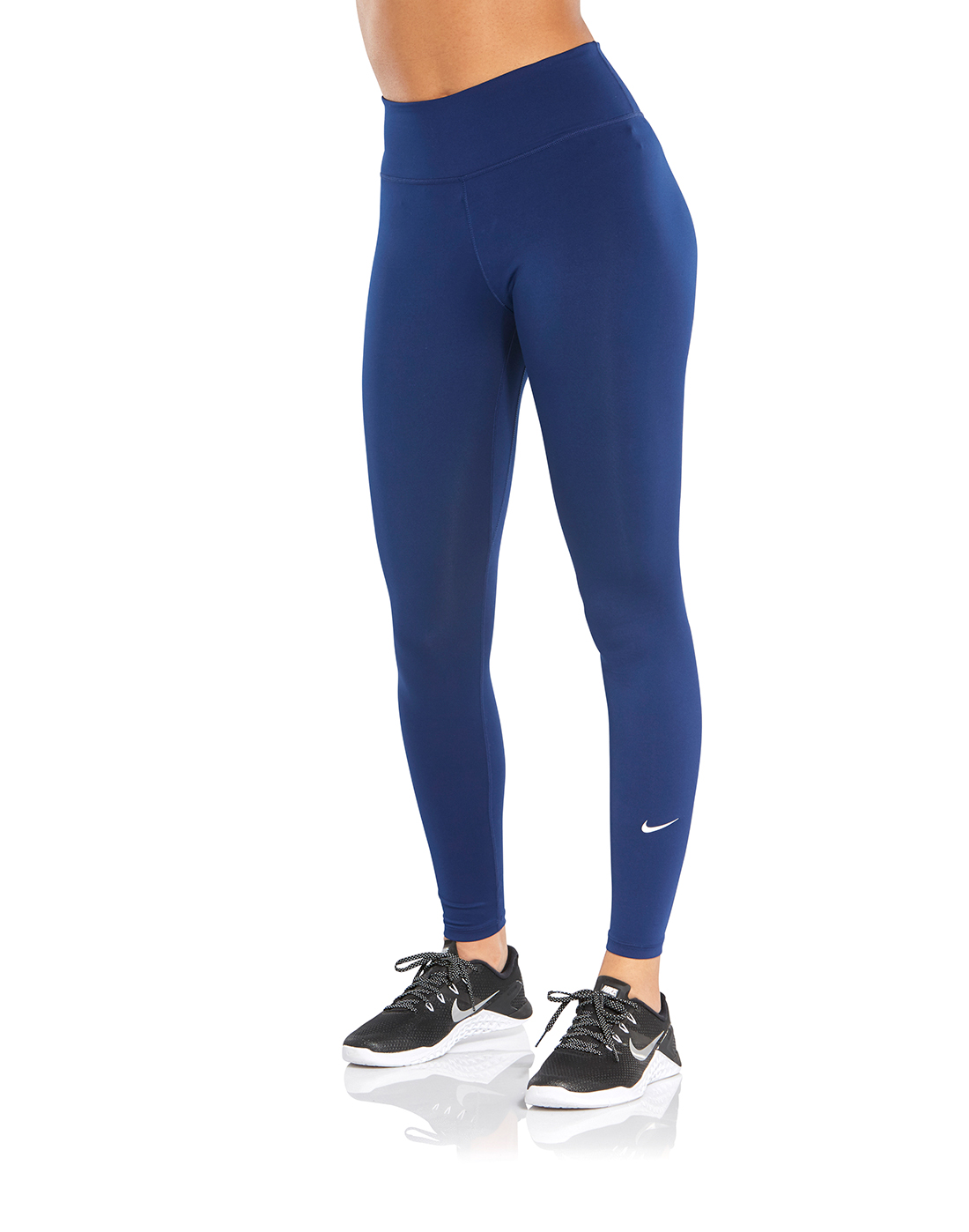8dbe48eea9b27 Women's Blue Nike All-In-One Tights | Life Style Sports