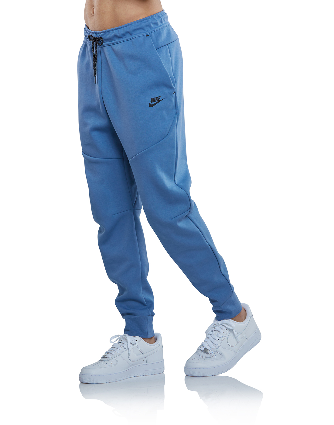 Nike Mens Tech Fleece Joggers Blue Life Style Sports Ie