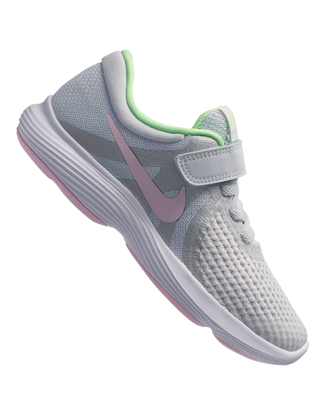 425eab076d Young Girl's Grey Nike Revolution | Life Style Sports