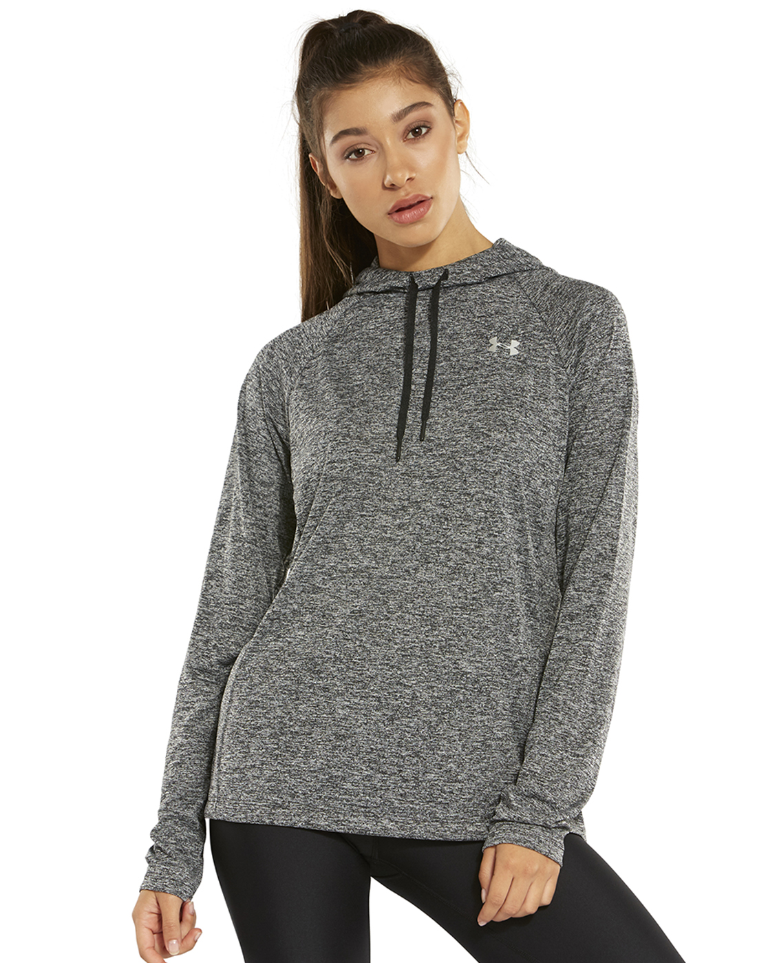 8d8abe2ea Women's Black Under Armour Gym Hoodie | Life Style Sports