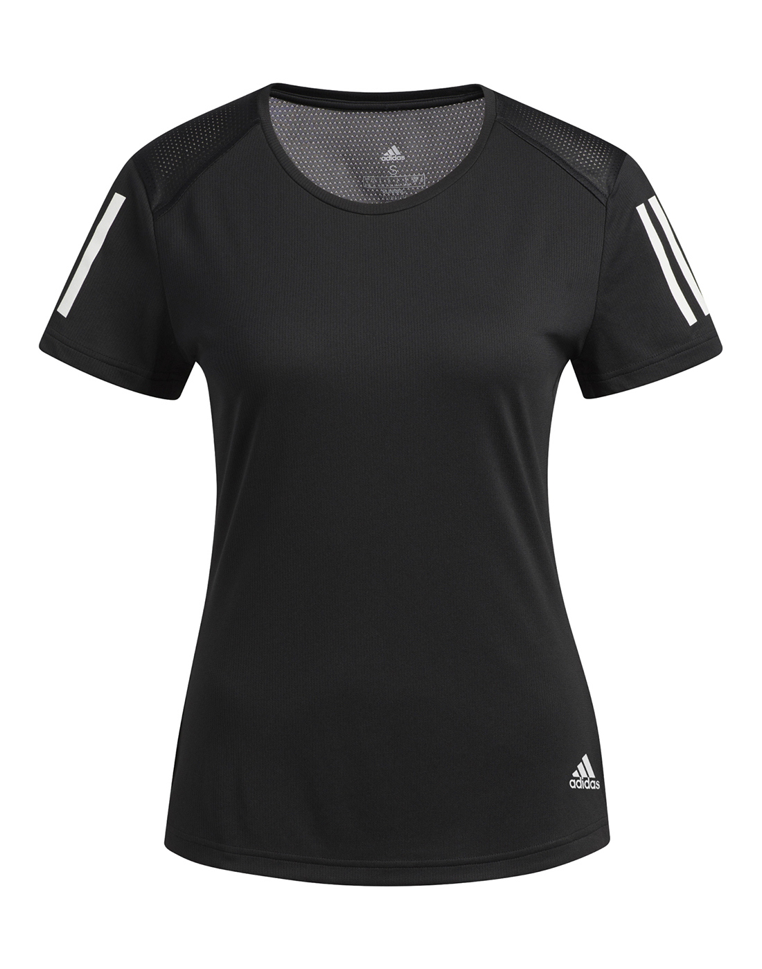 Women's Black adidas Running T-Shirt | Life Style Sports