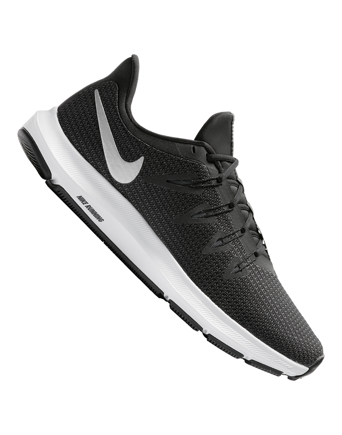 6aed9999f Women's Black Nike Quest Running Shoes | Life Style Sports