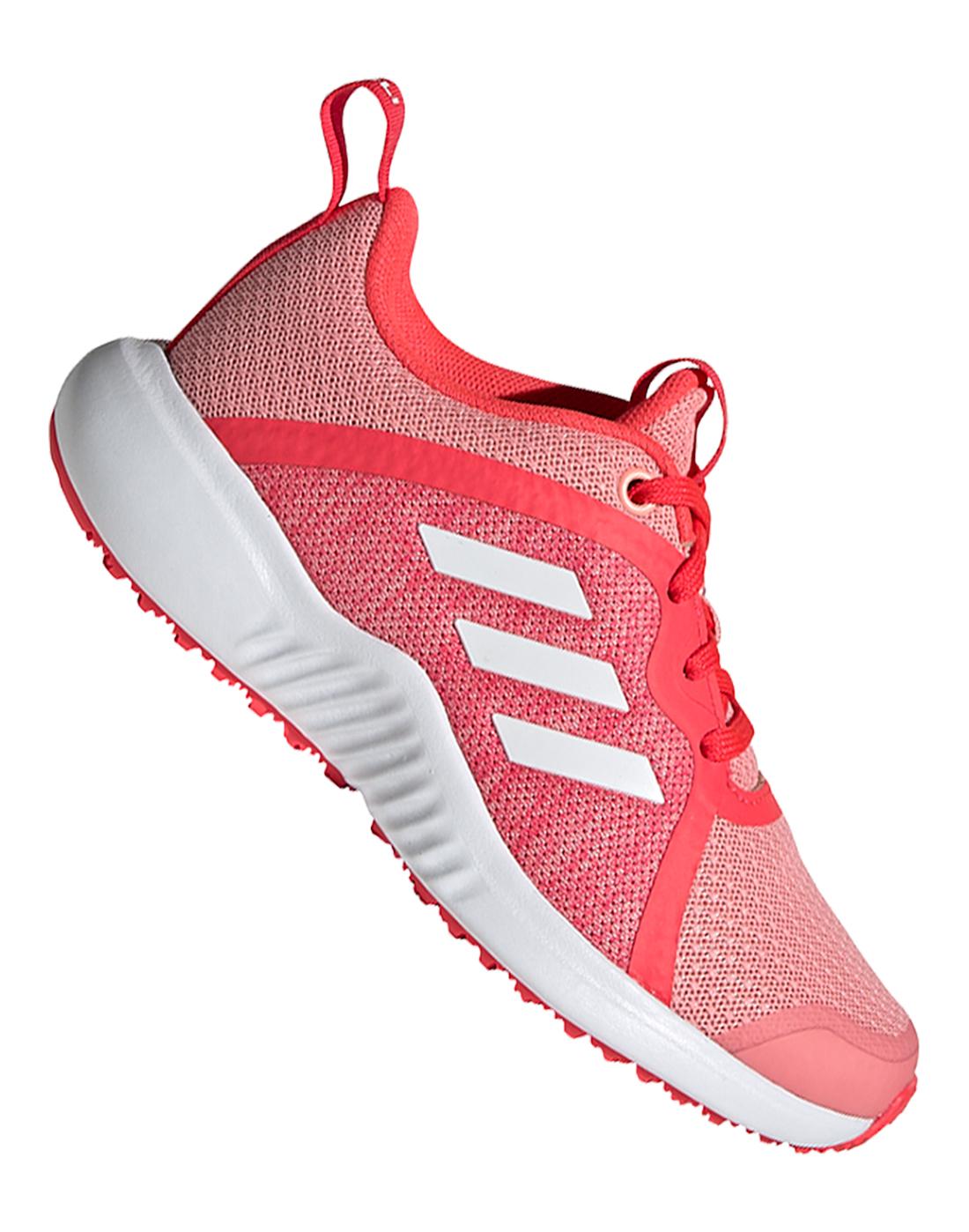 adidas Older Girls Fortarun X - Pink