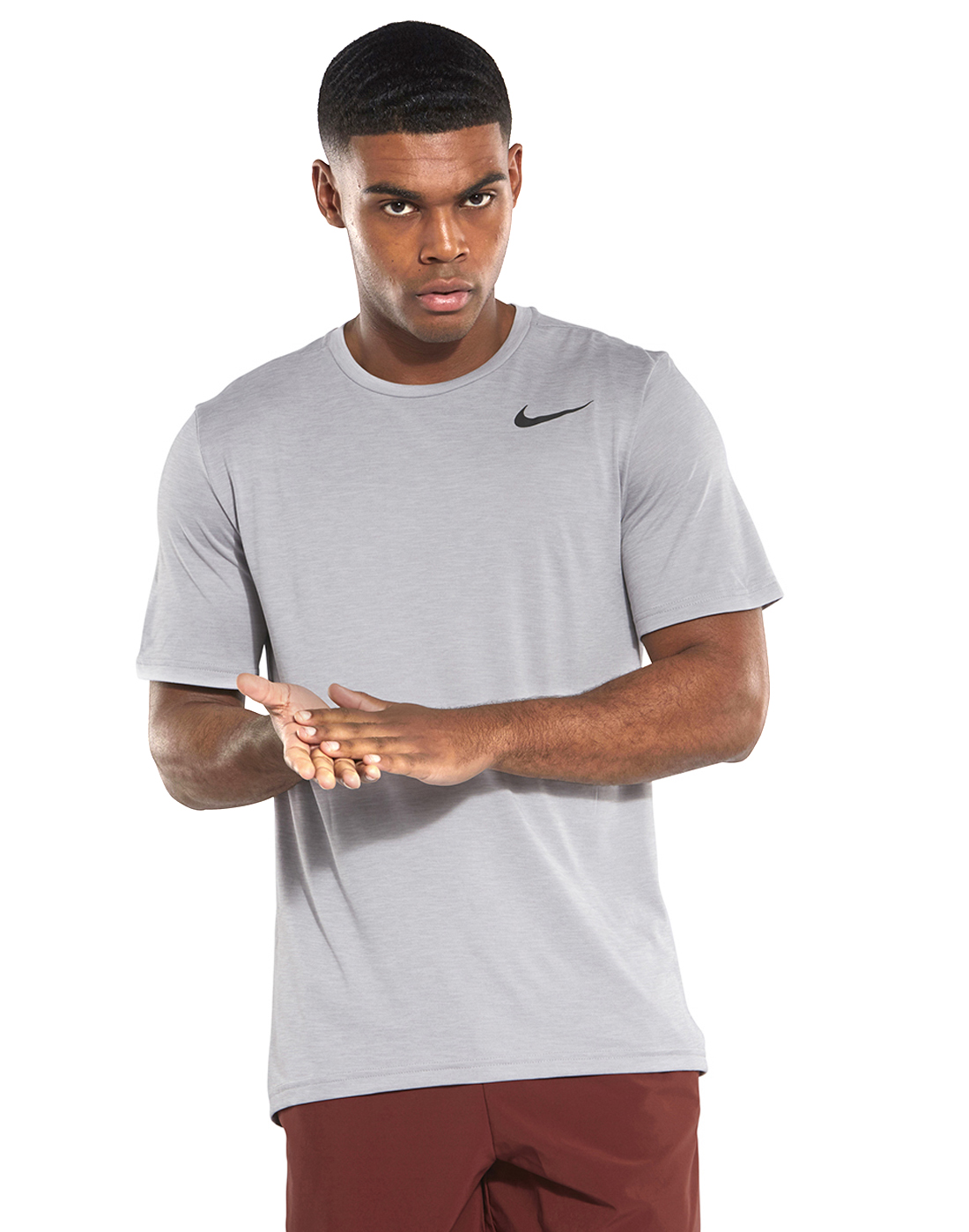 67391d70 Men's Grey Nike Hyper Dry T-Shirt | Life Style Sports