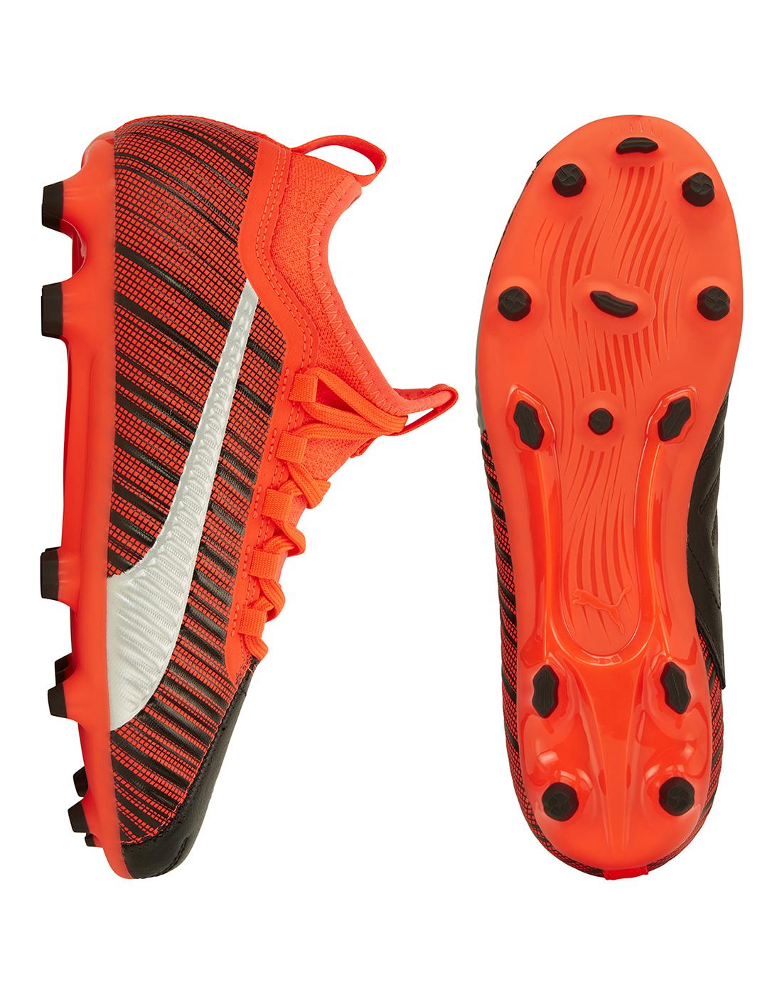 PUMA Kids Boys One 5.3 Junior FG Football Boots Firm Ground