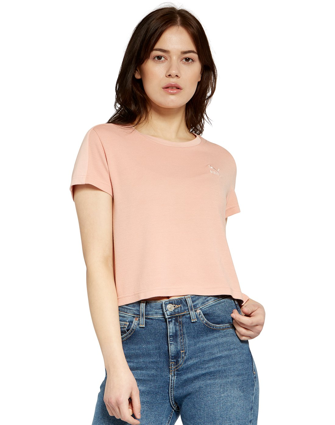 6e778574ab6d Womens Classic Structured T-Shirt ...