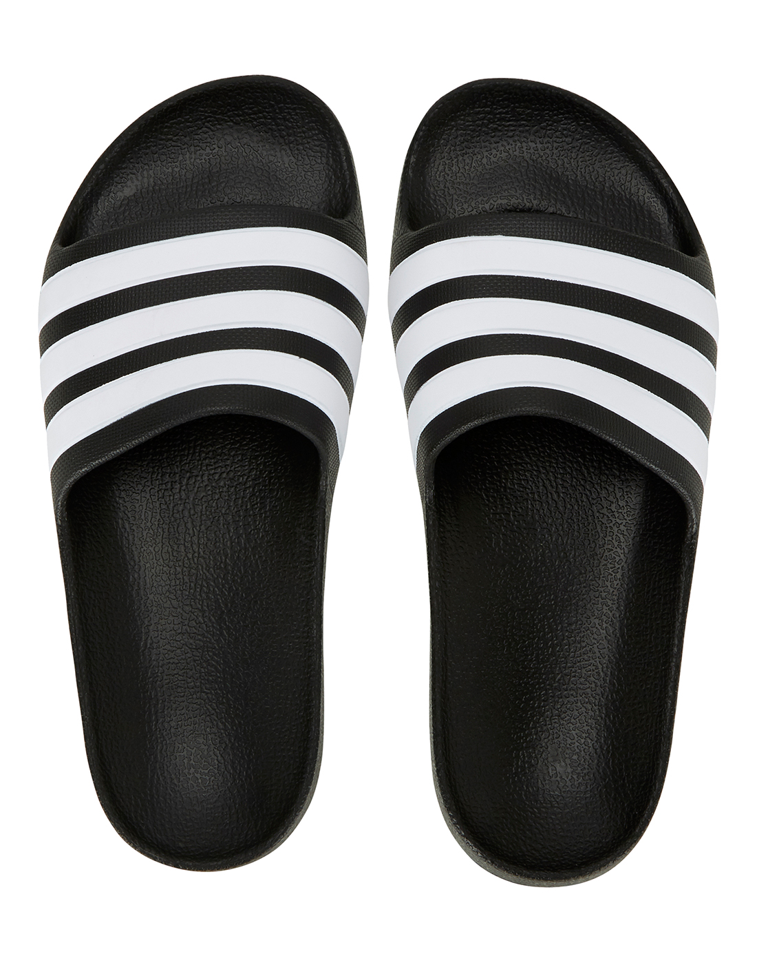 2a3b38bc4c6d6d Kid s Black   white adidas Slides