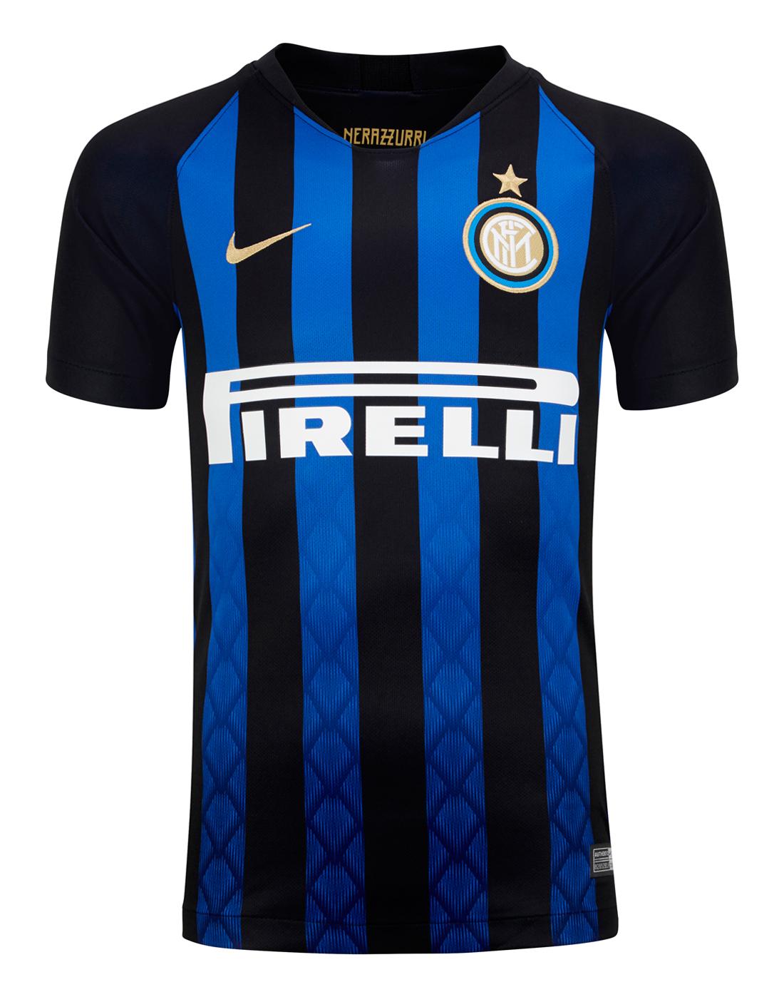 c6bbe171e39c Kids Inter Milan Home 18 19 Jersey ...
