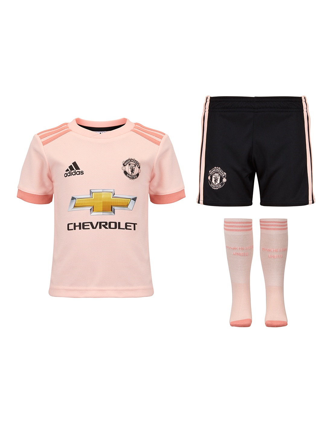 Kids Man United 18 19 Away Kit Adidas Life Style Sports