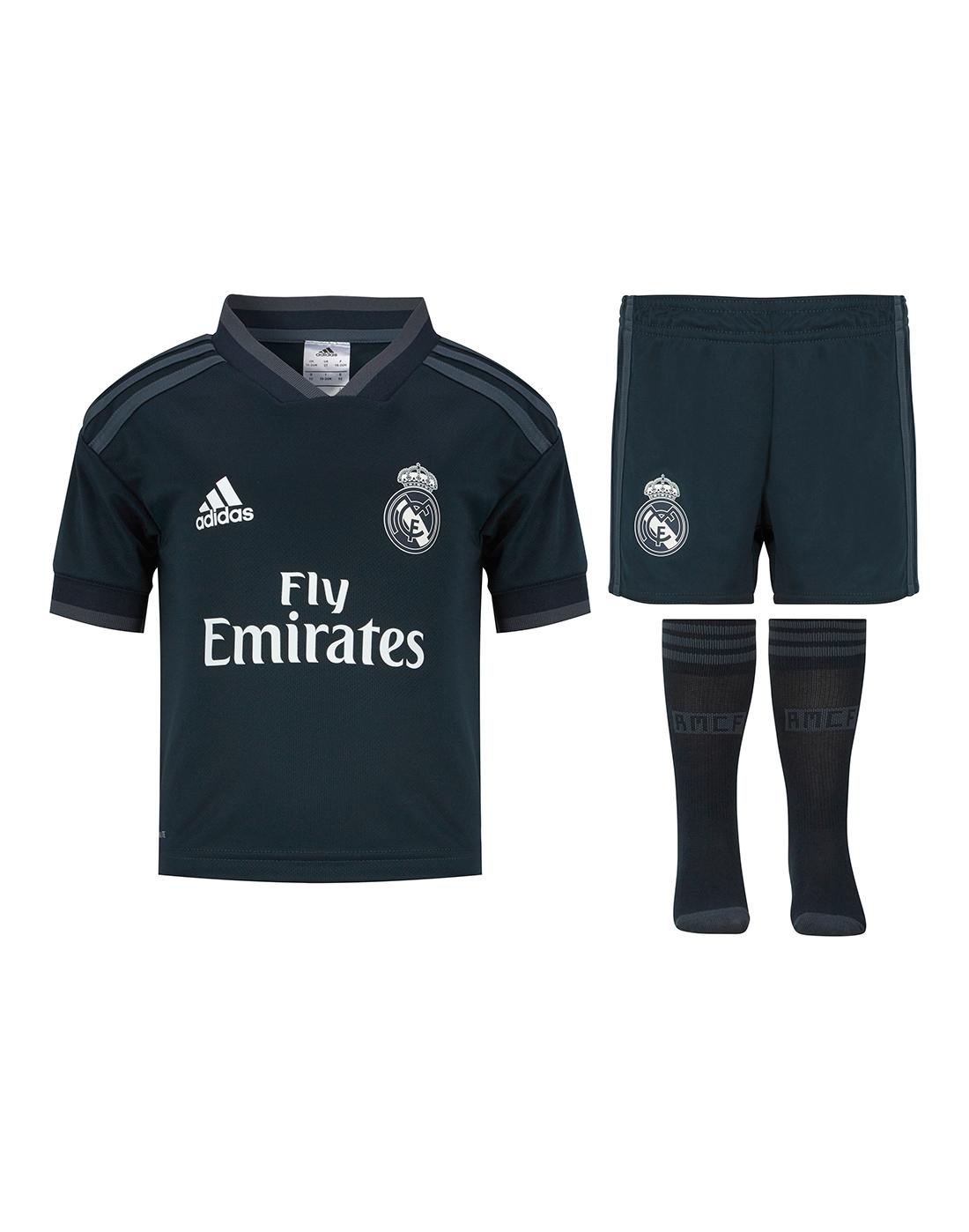 9e0a949cc707c Kids Real Madrid 18/19 Away Kit | adidas | Life Style Sports
