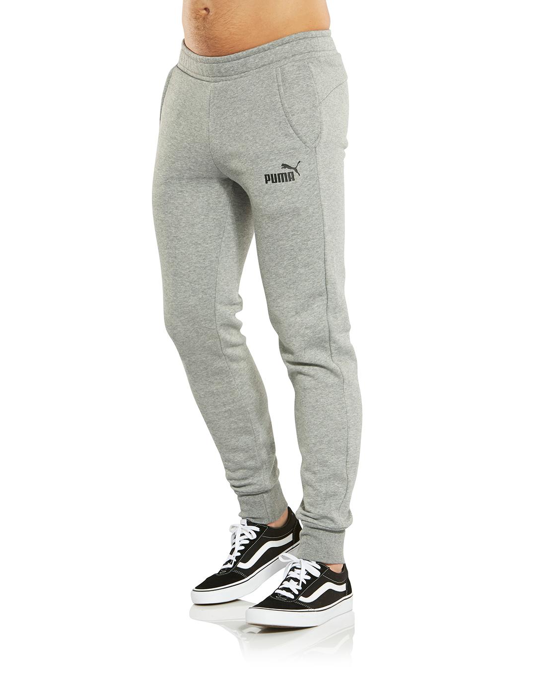 db4621b9d778 Men s Grey Puma Sweatpants