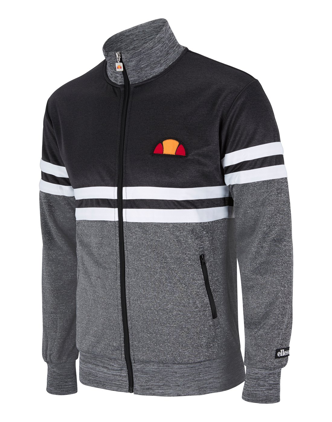 bd2d55848a Men's Ellesse Lima Track Top | Grey | Life Style Sports