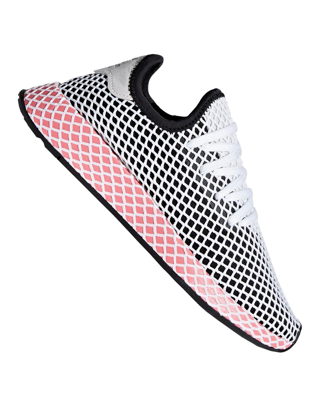 adidas Originals Womens Deerupt Runner | Black | Life Style Sports