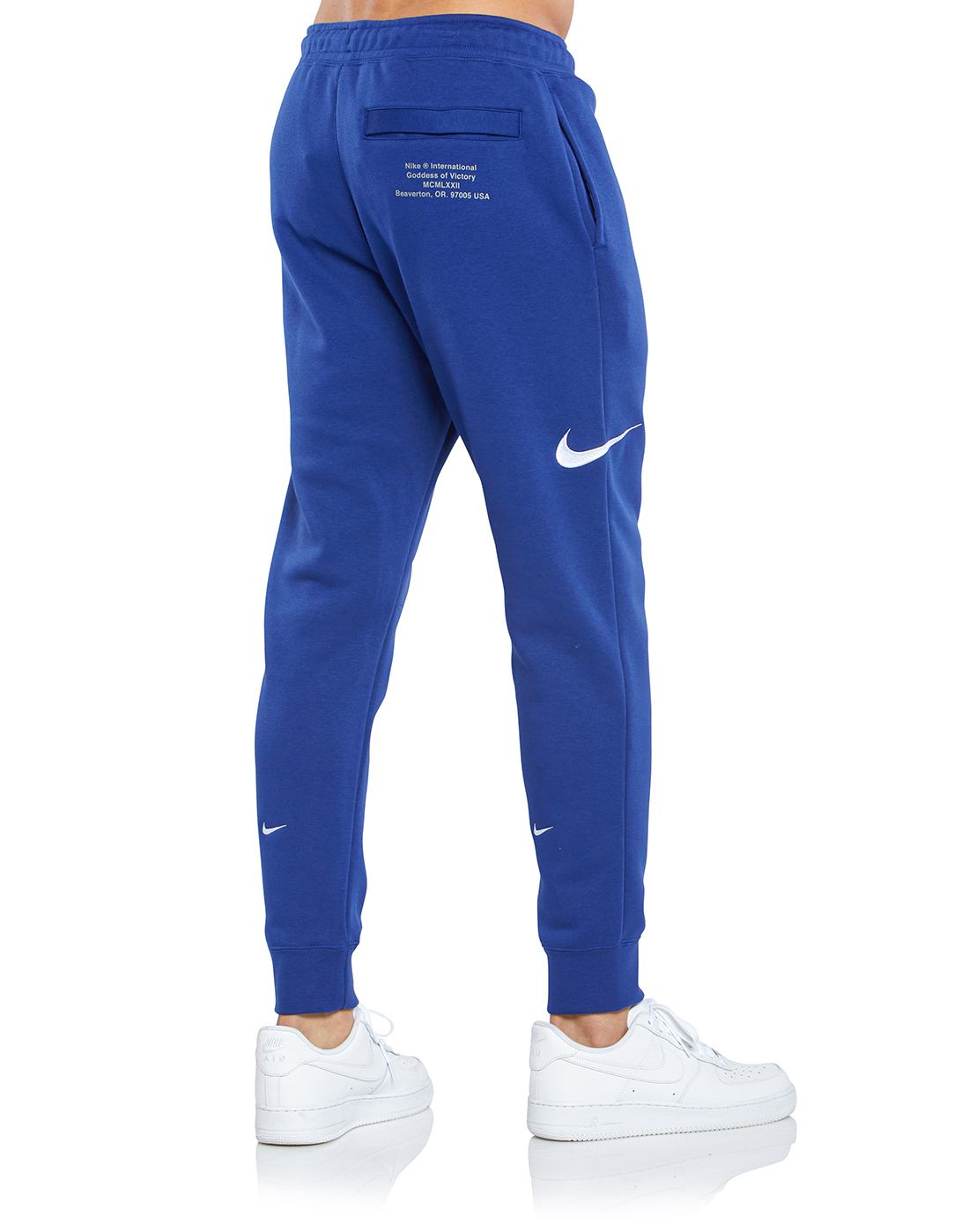 localizar Prestador aeropuerto  Nike Mens Swoosh Pants - Blue | Life Style Sports IE