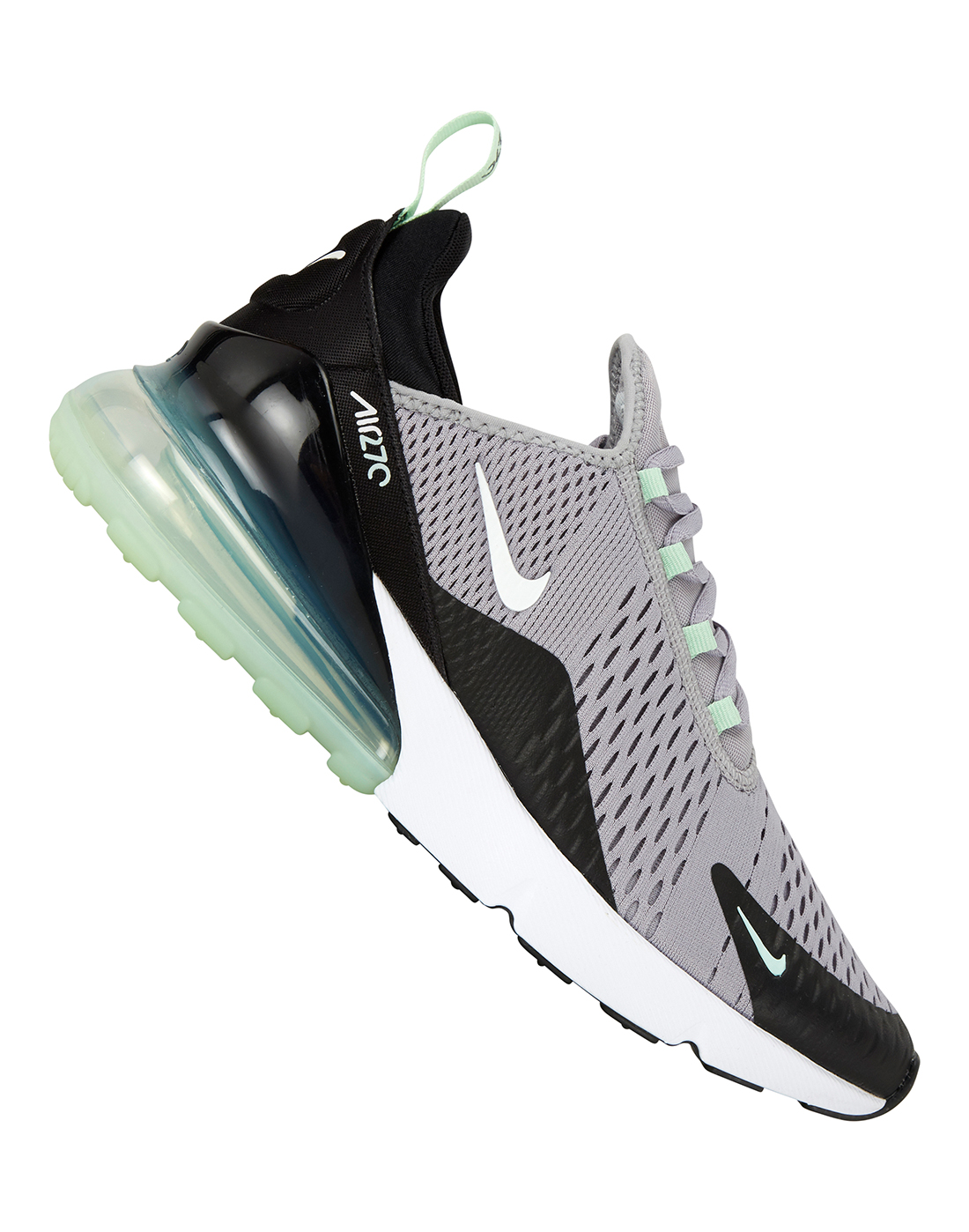 40a3e11a97 Men's Grey & Green Nike Air Max 270 | Life Style Sports