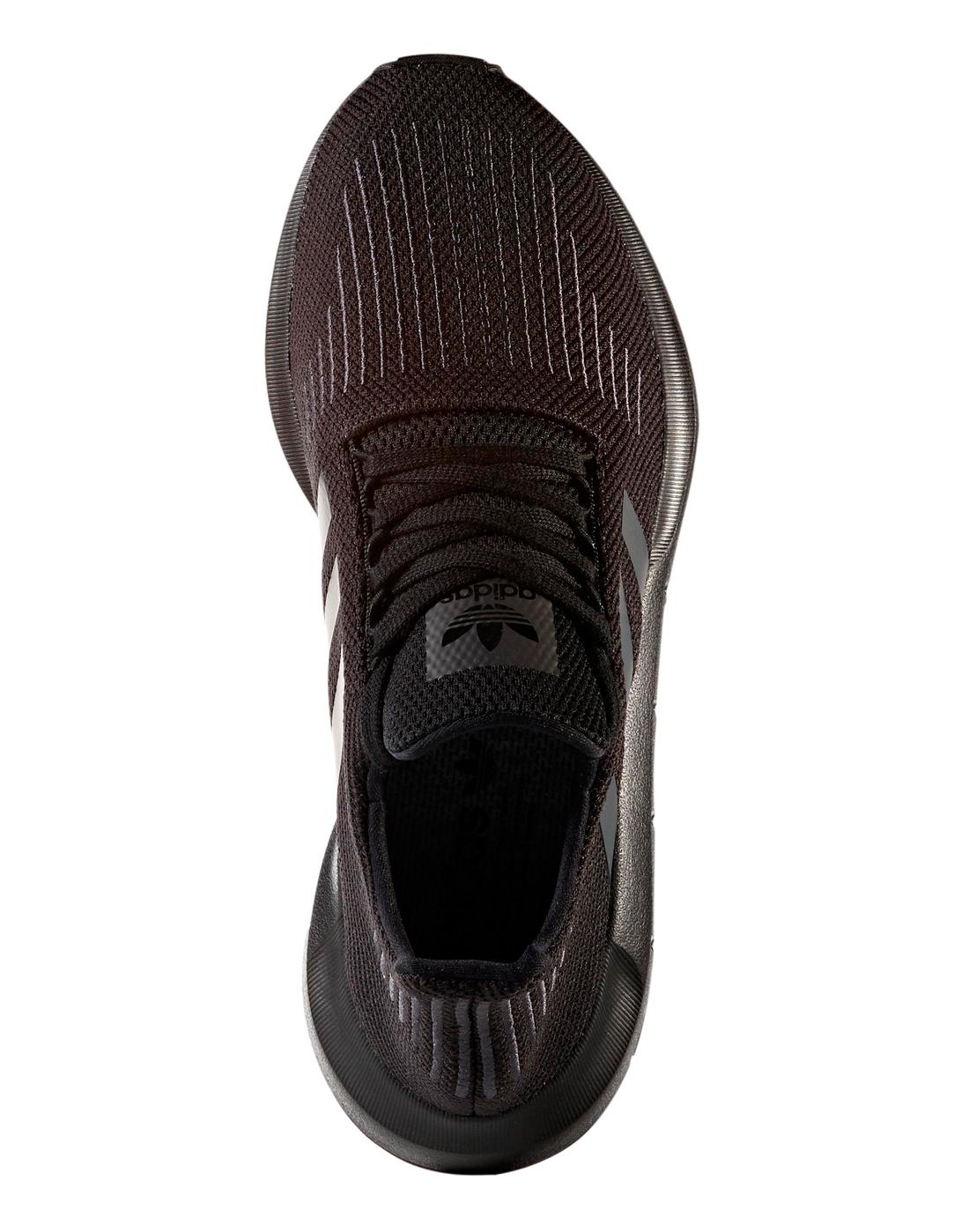 uomini è adidas originali swift run black dello stile di vita sportiva