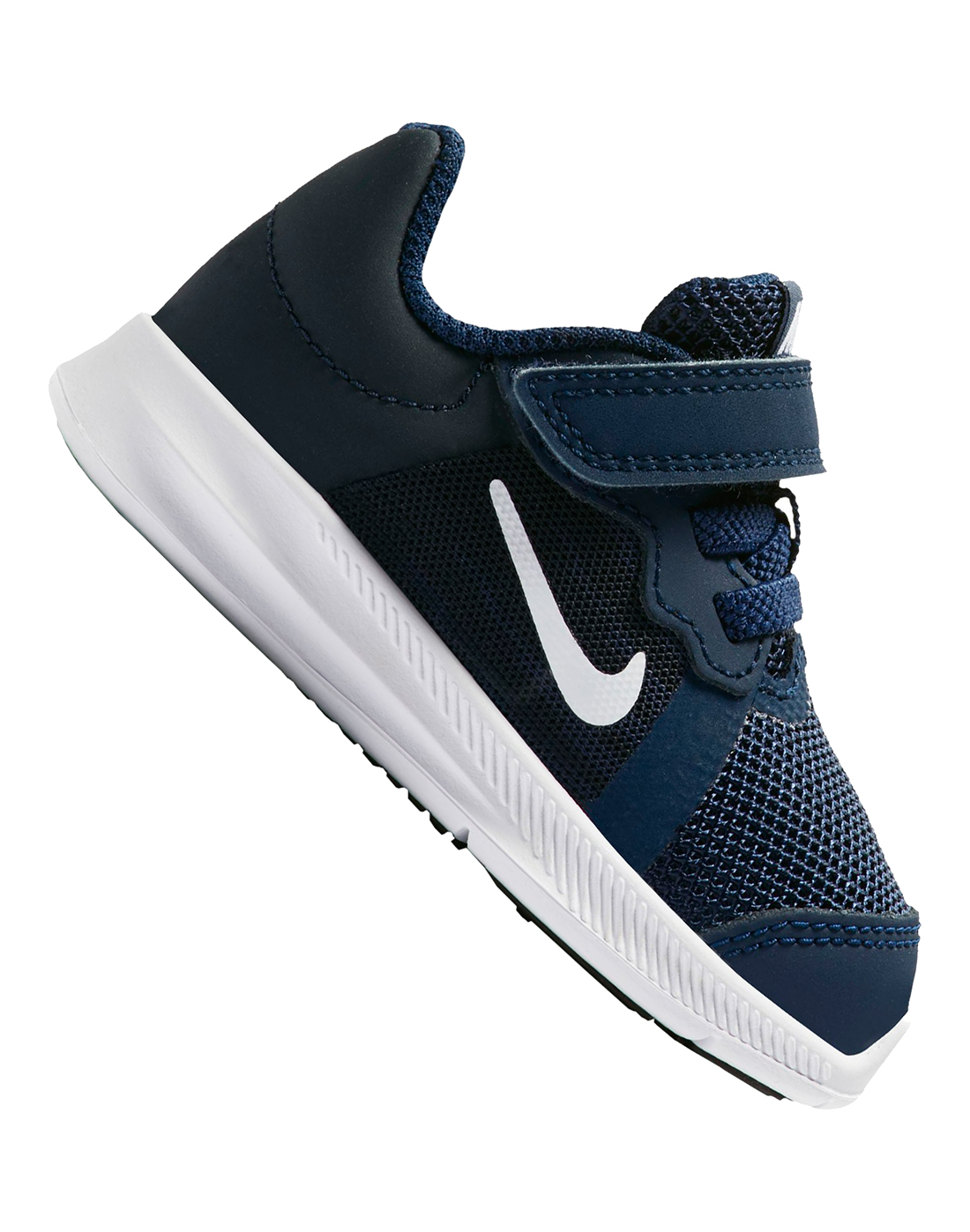 Infants Navy Nike Downshifter Trainers